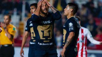 Jugadores de Pumas lamentan la derrota