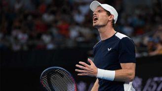 Murray después de la primera ronda del Abierto de Australia