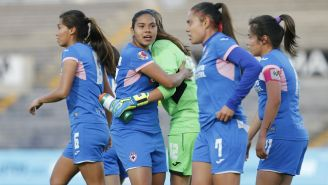 Cruz Azul Femenil en duelo contra Lobos BUAP