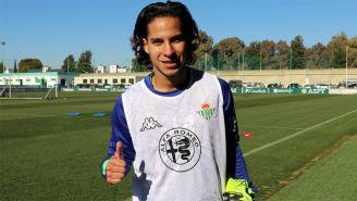 Lainez ya fue presentado oficialmente como jugador del Real Betis