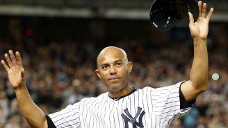 Mariano Rivera en su último partido con Yankees