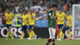 Lozano se lamenta tras perder contra Suecia