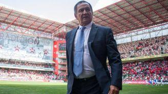 Enrique Meza previo a un duelo en el Clausura 2019
