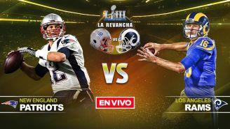 EN VIVO y EN DIRECTO: Patriots vs Rams