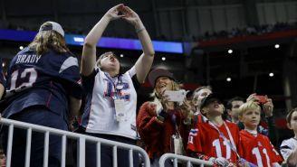 Aficionados en el Super Bowl LIII