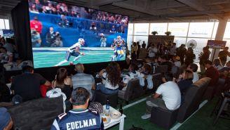 Aficionados mexicanos disfrutan del SB LIII