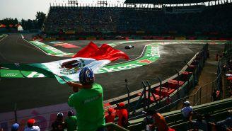 Un aficionado mexicano en el Gran Premio de México