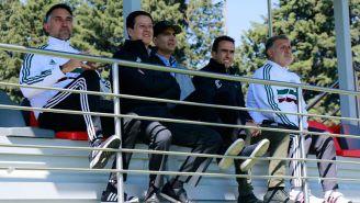Gerardo Martino observa entrenamiento del Toluca