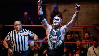 Pagano en el ring de AAA