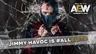 Promocional de Jimmy Havoc en AEW