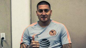 Nico Castillo en las instalaciones de Coapa