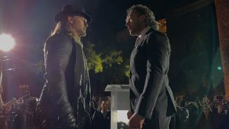 Chris Jericho y Kenny Omega, frente a frente