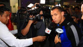 Jesús Dueñas durante rueda de prensa