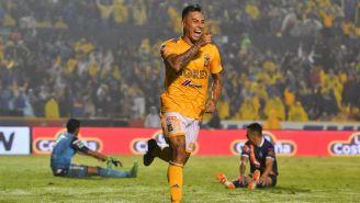 Vargas celebra anotación con Tigres