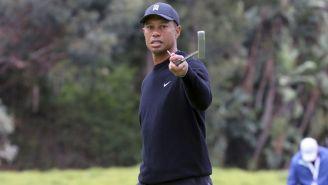 Tiger Woods durante el torneo Genesis Open