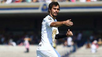 Alejandro Arribas en un partido de los Pumas