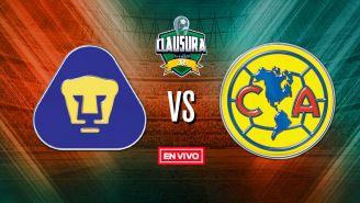 EN VIVO y EN DIRECTO: Pumas vs América