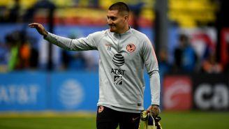 Nicolás Castillo agradece el apoyo de la afición azulcrema