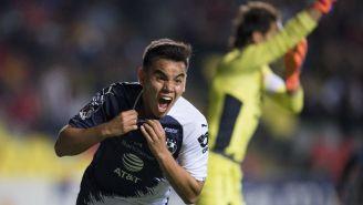 Carlos Rodríguez festeja gol del triunfo de Rayados