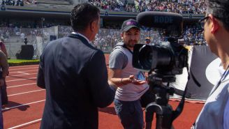 'Fotógrafo'encara a Miguel Herrera en Ciudad Universitaria