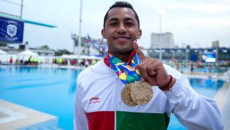 Jahir Ocampo, durante los Juegos Centroamericanos y del Caribe Barranquilla 2018