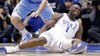 Zion Williamson sufre lesión en la rodilla