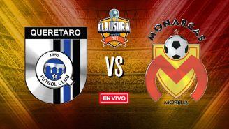 EN VIVO Y EN DIRECTO: Querétaro vs Morelia