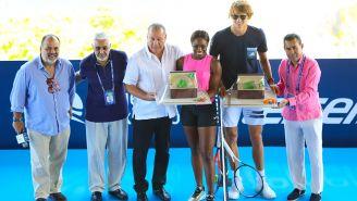 Sloane Stephens y Alexander Zverev inauguran el Abierto Mexicano de Tenis