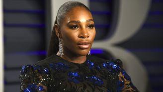 Serena Williams, durante la fiesta de los Oscar de Vanity Fair