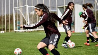 Tri Femenil previo a su enfrentamiento de la Copa Chipre