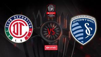 EN VIVO y EN DIRECTO: Toluca vs Sporting Kansas City