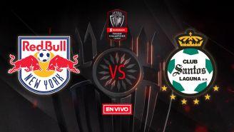 EN VIVO y EN DIRECTO: NY Red Bulls vs Santos