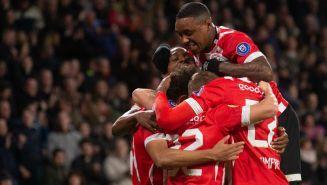 PSV celebra una anotación frente al NAC  Breda