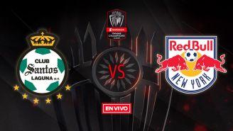 EN VIVO Y EN DIRECTO:Santos vs New York Red Bulls