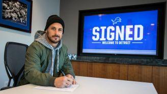 Amendola firma su contrato con los Lions