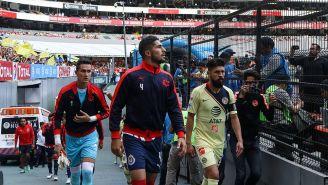 Jair Pereira y Oribe Peralta previo al más reciente Clásico Nacional