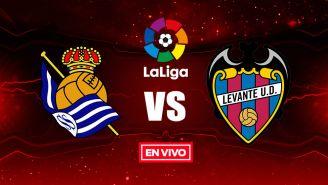 EN VIVO y EN DIRECTO: Real Sociedad vs Levante