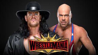The Undertaker enfrentaría a Kurt Angle en WrestleMania 35