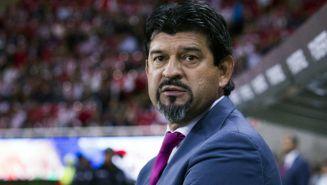 José Cardozo durante un encuentro ante Monterrey