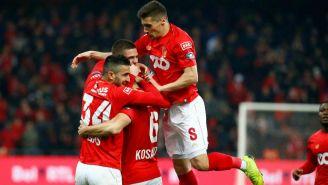 Standard celebra victoria en la Jupiler Pro League