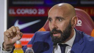 Monchi cuando era director deportivo de la Roma