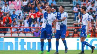 Edwin Cardona festeja gol ante Xolos de Tijuana