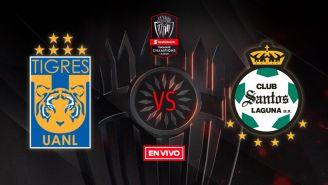 EN VIVO y EN DIRECTO: Tigres vs Santos Laguna