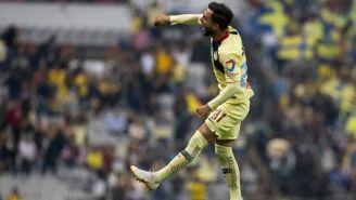 José Guadalupe Hernández Clemente festeja su gol ante Xolos