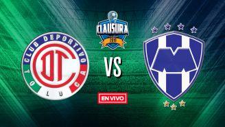 EN VIVO y EN DIRECTO: Toluca vs Monterrey