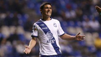 Matias Alustiza se lamenta tras falla contra Morelia