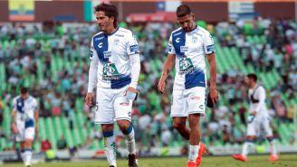 Pachuca al término del encuentro ante Santos