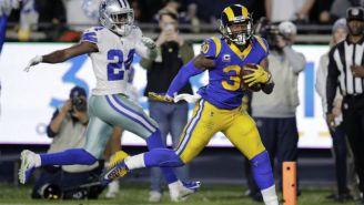 CJ Anderson le anota un touchdown a los Cowboys