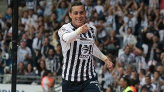 Funes Mori celebra anotación contra Rayados