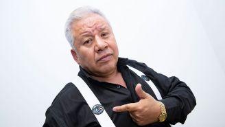 El Tirantes señala el escudo de TV Azteca